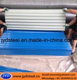 Лист крыши Corrugated цвета стальной PPGI