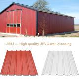 Feuille stable de toit de la couleur enduite UPVC d'asa