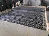 ISOによって証明される金属棒の火格子を付ける鉄骨フレームは格子がつく