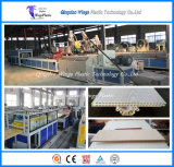 Производственная линия плиты доски потолка панели стены WPC внешняя/PVC/WPC декоративная