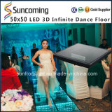 13D Mirror時間Tunnel LED Dance FloorのRGB 3