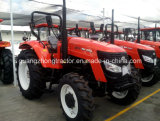 アフリカのHighquality Hot Saleの80HP 4WD Large Farm Tractor
