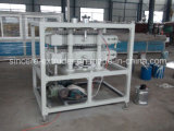 cadena de producción gemela del tubo del PVC del hilo de 40m m