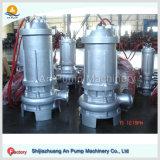 Bomba de água de esgoto submergível deObstrução elétrica centrífuga da pressão