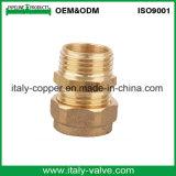 OEM&ODMの品質の黄銅は造った圧縮の等しい肘(AV7008)を