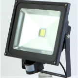 Naswietlacz/Halogen LED 10W Z Czujnikiem Ruchu IR Bialy Cieply Light