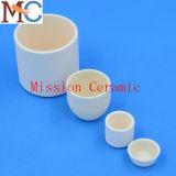 Alumina van de Weerstand van 99.7% Ceramische Smeltkroes Op hoge temperatuur