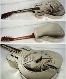 Гитара резонатора тела металла оптовой цены электрическая