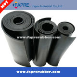 Baixo Hardness 40 Shore um Resilient Rubber Sheet