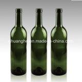Bordeaux-Glaswein-Flasche 750ml mit Corktop