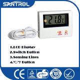 La refrigeración parte el termómetro electrónico