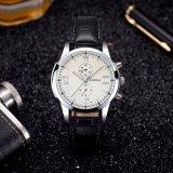 Form-Uhr-Quarz-der Männer des einfachen Entwurfs-Z384 Armbanduhr