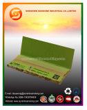 papel de cigarrillo del color de 12.5GSM Brown con 1 1/4 talla