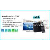 Androider Fernsehapparat-Kasten 6.0 Mxq Vierradantriebwagen-Kern Mali-450MP GPU an 600MHz+