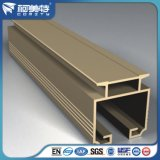Profils en aluminium de qualité d'OEM avec la couleur en bronze anodisée