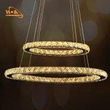 Großhandels-LED beleuchtet die 3 Ring-hängenden Decken-Art- DecoLeuchter