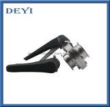 Válvulas de borboleta manuais inoxidáveis higiênicas do aço AISI316L