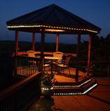 lumières solaires de chaîne de caractères de corde de 22.6FT, 50 DEL, pour la décoration d'usager de chambre à coucher de jardin de Noël