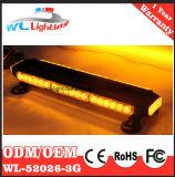 12V de dubbel-Kanten die van het verkeer Waarschuwing Lightbar opvlammen