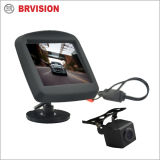 Sistema impermeável da câmera do Rearview do carro com o mini monitor de 3.5 polegadas