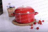 Cacerola de Sunboat con la cubierta del esmalte Cookware del esmalte