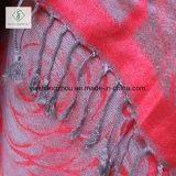 2017 Hete Verkoop de Sjaal van de Sjaal van Dame Fashion Pashmina Rose Wall Jacquard