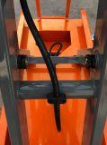 Чернь торговый колес обеспечения 4 миниая Scissor подъем платформы