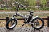 2016 bicicletas elétricas do pneu gordo da neve/bicicleta elétrica cruzador da praia