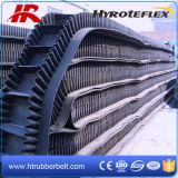 中国の専門の移動式波形のサイドウォールのコンベヤーベルトのローダー