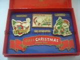 クリスマスシリーズ折りえりPinの高品質の折りえりPin