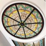 アーキテクチャタイルの屋根ふきの金属フレーム材料の大きいステンドグラスのドーム