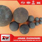 Sfere stridenti forgiate  per il cemento di estrazione mineraria e la centrale elettrica