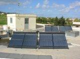 Coletor solar da água da tubulação de calor do projeto