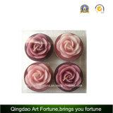 Vela de flutuação de Rosa Tealight para a decoração do dia do Valentim do casamento