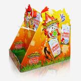 Visualización de la encimera de la venta al por menor de la cartulina del caramelo, visualización del azúcar, soporte de visualización de papel