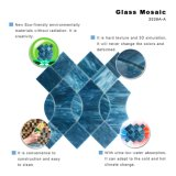 La impresión modela los azulejos de mosaico de cristal de Backsplash del estilo para la pared de la cocina