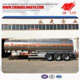 De Vervaardiging van China 40000 van het Aluminium van de Legering Liter van de Aanhangwagen van de Olietanker