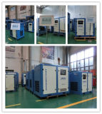 8m3/Min, 268cfm, 55kw 의 72HP 나사 공기 압축기