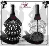 Banco di mostra creativo del vino del metallo