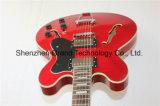 Музыкальные аппаратуры/Semi тип 335 пылали гитара джаза электрическая (TJ-205)