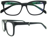 Frames van het Glas van de Glazen van het Oog van de Ontwerper van de Mens van de Frames van Eyewear van het Voorschrift van de tendens de Magnetische