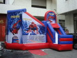 Colorful Commercial Inflatable Combo Bounce House Gonflable Bounce Castle