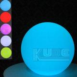 """"""" bola del LED 8 que enciende el globo al aire libre los 20cm de la bola impermeable"""