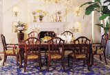 Mobília de madeira moderna que janta a mobília de madeira da cadeira de tabela do jantar do jogo