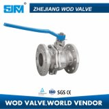 JIS Flange Ball Valve (2 PC TYPE) 10k 80 Scs13