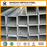 Tubo de acero del cuadrado del material de construcción de la construcción de Ss400 Q235