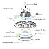 빛 5 년 보장 높은 광도 UFO 200W LED Highbay