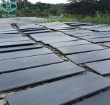 Pequeña losa del basalto ligero y oscuro, negro de Hainan, Hainan Hei