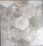 Azulejo de suelo concreto de azulejo de la porcelana de la mirada del azulejo rústico gris del color