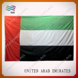 Bandeira grande de United Arab Emirates do poliéster (HYNF-AF005)